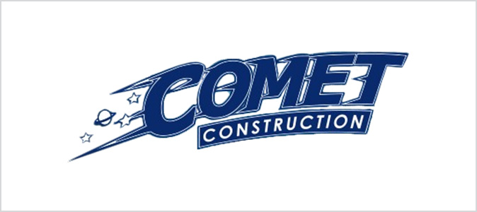 Comet construction logo
